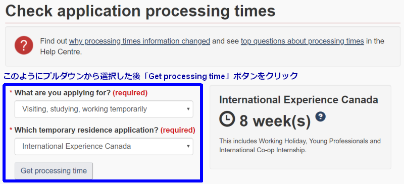 Application Processing Times